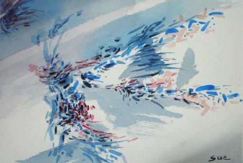 淑兰作品 抽象画1 4 -淑兰网之涂鸦网